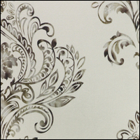 Fabric flower white